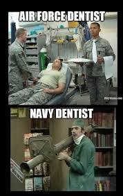 Dental comparison - Navy Memes - clean mandatory fun via Relatably.com