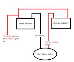 wiring diagram 12v trolling motor wiring diagram 12v trolling how to wire a 24 volt trolling motor diagram at Minn Kota 24 Volt Trolling Motor Wiring Diagram
