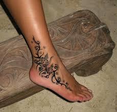 тату на щиколотке на ноге тату на щиколотке Tattoohacom женские