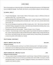 Python Developer Resume Sample Best Of Programming Resume Examples Examples Of Resumes