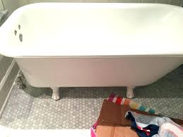rust stains in bathtub how