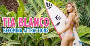 Tia Blanco Surfs Into Her Playboy Becoming Attractions Shoot YouTube
