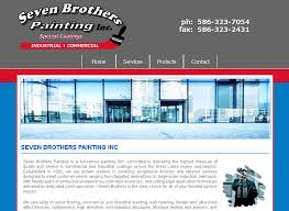seven brothers painting website macomb mi