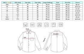 Emerald Shirts Size Chart Www Bedowntowndaytona Com