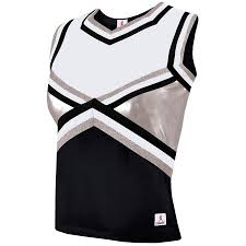 Metallic Shock Cheerleading Uniform Shell Top Youth Girls Sizes Size Null