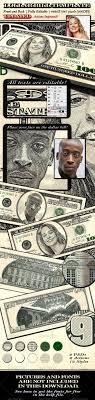 Money Bill Template Design A Dollar Bill Template