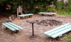 13 Awesome Outdoor Bench Projects  The Garden GloveStone Benches With Backs