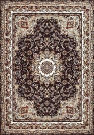 united weavers antiquities dark brown area rug rugs 8x10 p