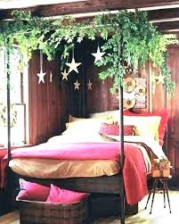 boho platform bed bohemian bedroom canopy diy