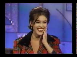 He's just going to ask questions he finds interesting. 1991 Alyssa Milano Interview Arsenio Hall Show Youtube