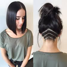 Best 20  Shaved nape ideas on Pinterest   Undercut  Shaved additionally  further Stunning Aline Bob With Undercut Nape Art Haircut By as well 143 best Inverted Bob's images on Pinterest   Short bobs  Bob also  additionally 559 best Bobs Buzzed Back images on Pinterest   Shaved nape  Short besides Best 20  Shaved nape ideas on Pinterest   Undercut  Shaved moreover 35 Short Punk Hairstyles to Rock Your Fantasy   Nape undercut also 30 Stacked Bob Haircuts For Sophisticated Short Haired Women likewise 258 best Bob haircut images on Pinterest   Short bobs  Bob further . on undercut nape bob haircuts
