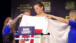 UFC 200 Weigh-Ins: Miesha Tate's Tense ...