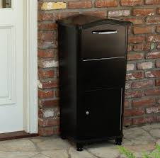parcel drop box. Simple Box Large Parcel Drop Box For Packages And Envelopes  Throughout Locking Security Mailbox