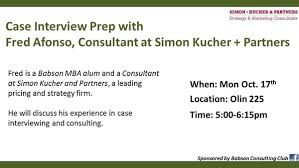 Simon Kucher Case Interview Prep With Fred Afonso Consultant At Simon