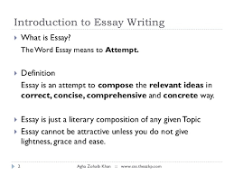 essay writing essay writingby agha zohaib khan 2