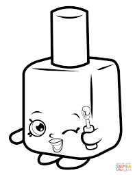Small Picture Lippy Lips Shopkin coloring page Free Printable Coloring Pages