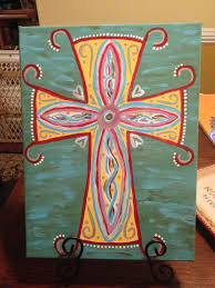 cross canvas painting ideas paintings of crosses 25 unique cross canvas art ideas on