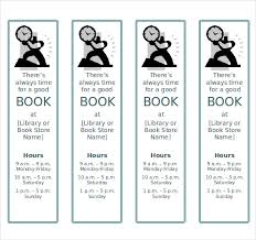Bookmark Template Word 8 Word Bookmark Templates Free Download Free Premium