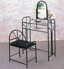 Metal Bedroom Vanity Metal Vanity Set For Bedroom Bedroom Vanities Design Ideas