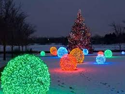 led outdoor lighted decorations