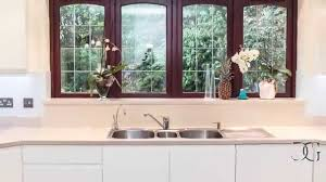 Splashback White Kitchen Satin Metallic Effect In White Glass Kitchen Splashback