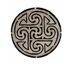 shearling round designer rug shearling designer rug round spartan