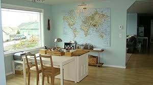 ikea premiar world map canvas with