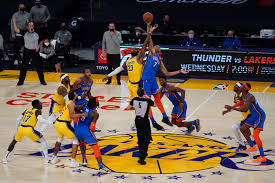Los Angeles Lakers avoid an OT upset against the OKC Thunder