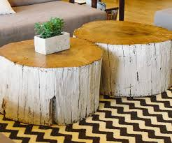... Large-size of Charming Stump Coffee Tables Coffee Table Round Living  Room Tree Trunk Tablesbrown ...