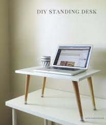 do it yourself office desk. DIY Home Office Decor Ideas - Standing Desk Do It Yourself Desks, Tables, Wall Art, Chairs, Rugs, Seating And Accessories For Your