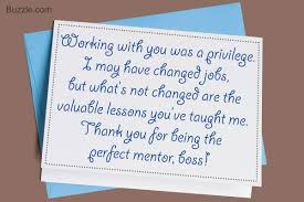 Thank You Note To Boss Smart Tips on Writing a Thank You Note to Your Boss Note Boss 1