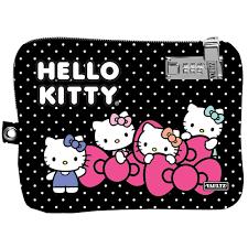 vaultz locking electronics medium pouch hello kitty black vaultz locking electronics medium pouch hello kitty black bows