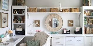 Elegant office design Ultra Modern Metro Eve Simple And Elegant Office At Home Design Ideas
