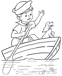 Small Picture Coloring pages of Boats