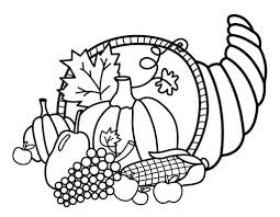 Thanksgiving Sunday School Coloring Pages For Preschool Free