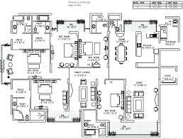 4 bedroom modern house plans pdf best of big house plans big house floor plan inspiring