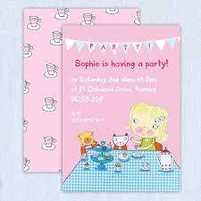 Girl Birthday Invitation Template Birthday Invitation Templates Word 650 650 Free Printable