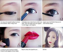 indonesian sub dxb tutorial aritaum makeup tutorial2 korean