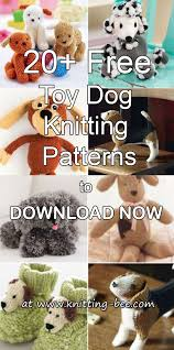 Free Knitting Patterns To Download Unique 48 Free Toy Dog Knitting Patterns To Download Now ⋆ Knitting Bee
