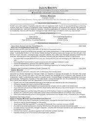 Extraordinary Hospitality Resumes Examples About Resume Samples
