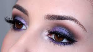 Resultado de imagem para maquiagem roxo