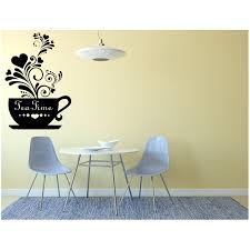 tea time wall decal kitchen wall art stickers