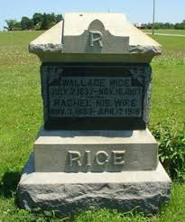 Wallace Rice (1837-1907) - Find A Grave Memorial