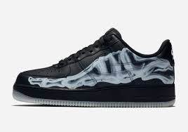 Light Up Air Force Ones For Sale Nike Skeleton Air Force 1 Halloween Bq7541 001 Release Date