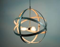 wine barrel lighting. ATOM - Premier Barrel Ring Chandelier Starting At $220.00 Wine Lighting S