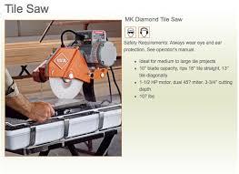 wet saw rental. wet saw rental e