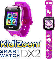 <b>VTech Kidizoom Smartwatch DX2</b> - Unicorn Edition (English Version ...