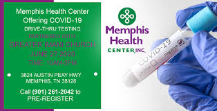If this lot is full, please use the overflow parking lot directly across the street in the upper lot. Covid 19 Drive Thru Testing Memphis Health Center