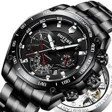 <b>BOYZHE Men</b> Automatic Mechanical <b>Watch</b> Luminous <b>Luxury</b> Brand ...