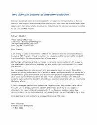 Letter Of Recommendation For Graduate School Nurse